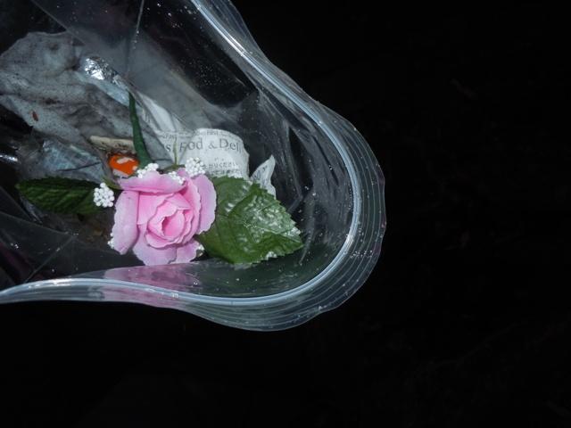 造花のバラ